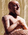 Sumerian Clay Figurine